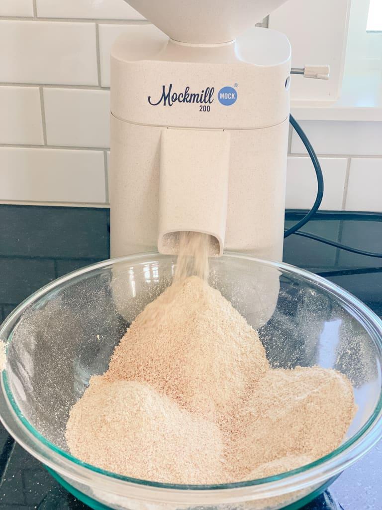 einkorn wheat berries flour mockmill grain mill grind wheat bulk storage