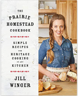 prairie homestead cookbook homesteader gift ideas