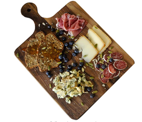 wood cutting board charcuterie board serving homesteader gift ideas