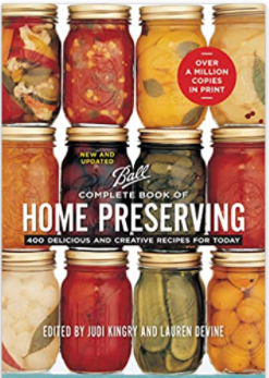 ball home preserving canning book homesteader gift ideas