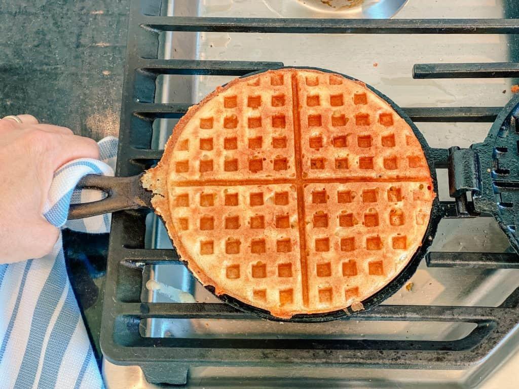 waffles cast iron waffle maker