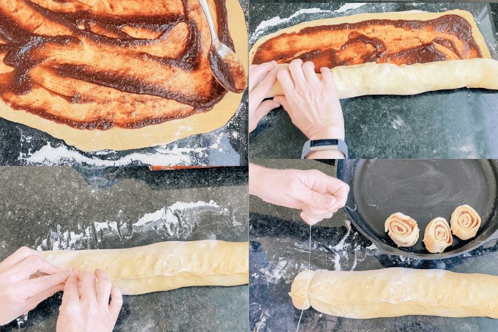 sourdough cinnamon pumpkin cream cheese frosting icing filling pumpkin pie spice